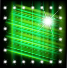 Abstract magic light star background