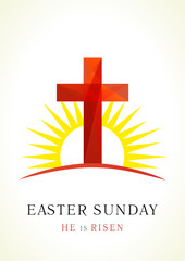 Easter Sunday card
