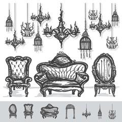 Vintage Chair Background