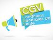mégaphone : CGV