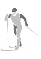 skier, sports icon