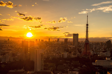 東京タワー 夕景