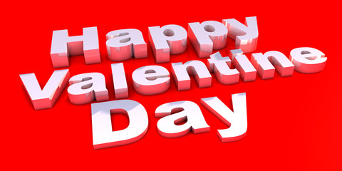 Happy Valentines Day on background