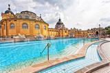 Szechenyi thermal baths in Budapest. - 77282421