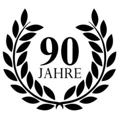 Lorbeerkranz. 90 jahre jubiläum