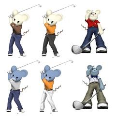 ねずみゴルフ