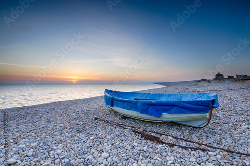 Fishing Boat on Chesil Beach