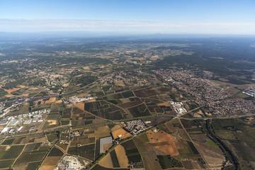 Vue aerienne Agde
