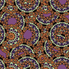 Abstract unusual mandala kaleidoscope symmetrical wallpaper