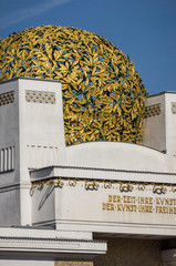 Secession Building in Vienna, Austria