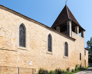 Limeuil's Church