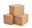 box package delivery cardboard carton - 77295419