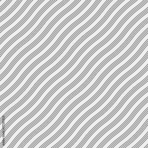 Vector seamless pattern. Modern stylish texture. Repeating - 77295823