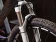 Mountain bike suspension detail