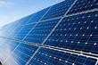 Leinwandbild Motiv Solar panels