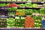 Fresh Vegetables in Produce Market
