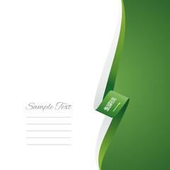 Saudi Arabia right side brochure cover vector
