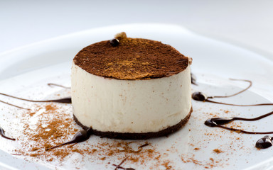Tiramisu and Cinnamon Powder