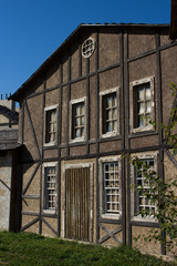 Деревянный дом. Декорации