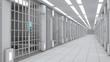 3d interior Jail - 77308403