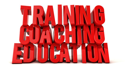 Training coaching and education text