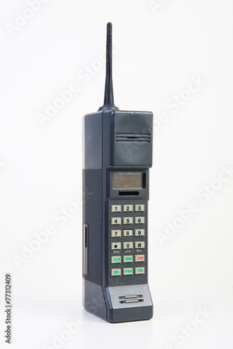 Old mobile phone - 77312409