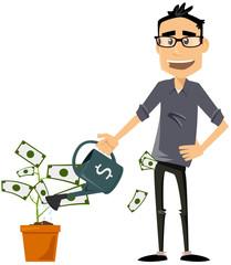 faire pousser des profits