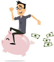 course à l'argent
