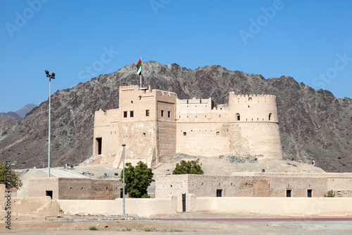 Historic fort in Fujairah, United Arab Emirates