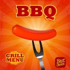 sausage bbq menu
