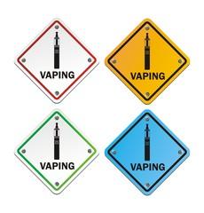 vaping signs