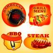 bbq stickers - 77314606