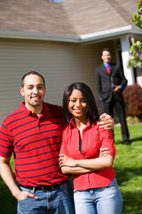 Home: Couple Ready to Work with Real Estate Agent