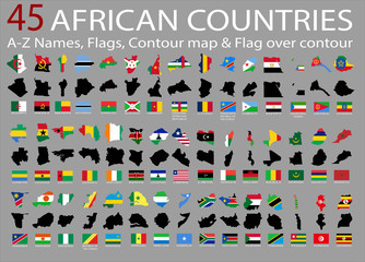 45 African countries