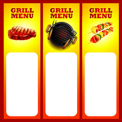grill menu steak