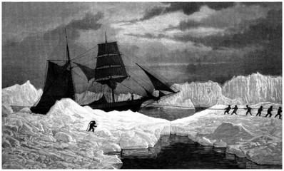 North Pole : Explorers - 19th century