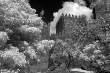 Infrared medieval Castle