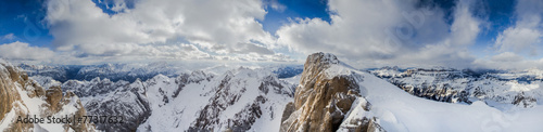 canvas print picture Dolomites, Italy, Europe