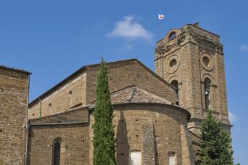 Palace of Bishops and basilica San Miniato al Monte, Florence