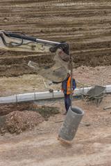 Installing storm drain system 2