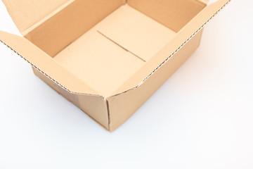 offener Karton - Teilansicht