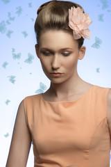 woman with elegant fresh look