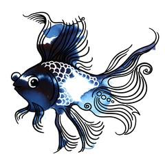 Рыба телескоп