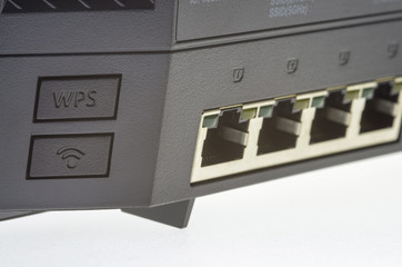 Internet gateway with ports