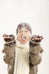 Joy Of The First Snowfall