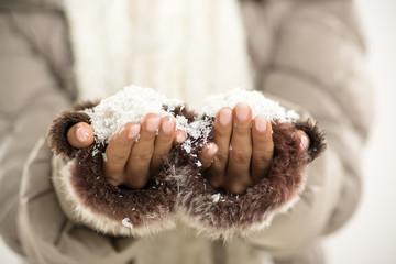 Snow In The Hands Of Women