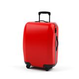 Fototapety Suitcase isolated on white background