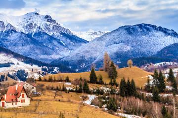Bucegi mountains (Carpathians) ,Romania
