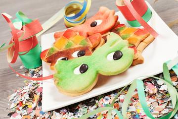 Carnival cookies