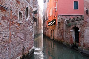 Venetian narrow canal